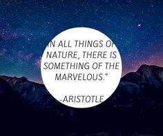 #aristotle #naturequotes #gettingoutdoors