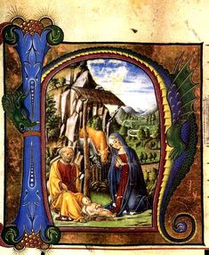 NATIVITY ARTWORKS OF CHRIST AT CHRISTMAS:  Many famous paintings including: Birth of Jesus:Francesco di Giorgio Martini 1460