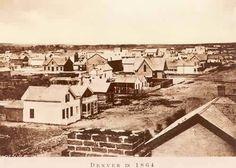 Denver in 1864