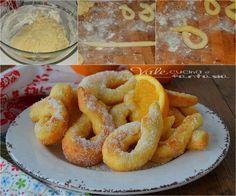 Zeppole con ricotta e arancia ricetta veloce