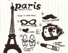 Went during the winter but hoping to see Paris and France in the summer one day! Beautiful Paris, I Love Paris, Beautiful Space, My Little Paris, Cute Doodles, Oui Oui, Illustrations, Favim, Paris Travel