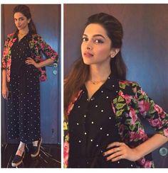 Deepika Padukone Clicked at Tamasha Promotions | PINKVILLA