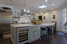 Cool, contemporary kitchen - Designer: Gene Abel, Kitchens by Design. www.mykbdhome.com