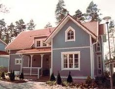 The house model Ainola (named after the wife of the Finnish composer Jean Sibelius) made by the housebuilder company Kannustalo that was founded and is still situated in Kannus, my ancestors' home