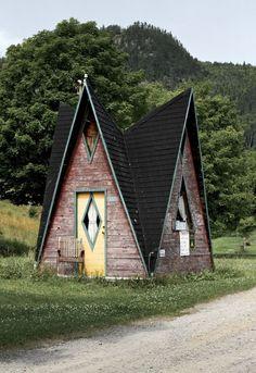 http://cabinporn.com/post/28554744599/a-frame-in-sainte-rose-du-nord-québec-canada #CampingTents101