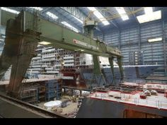 NEW! Visit to the Meyer Werft 12.05.14 - Look at the Quantum / Anthem of...