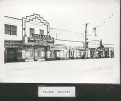 Palace Theater 40's British Men, Quebec, Ontario, Palace, Theater, Bears, Street View, Canada, City
