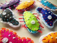 felt microbes