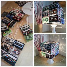 Recyclage créatif des cassettes audio! 15 idées inspirantes…