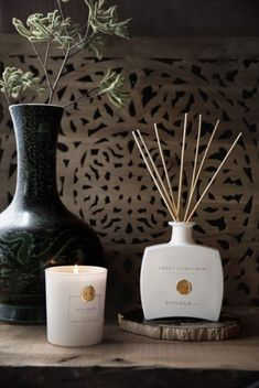 Add a touch of luxury to your home with our Private Collection scented candles and fragrance sticks.