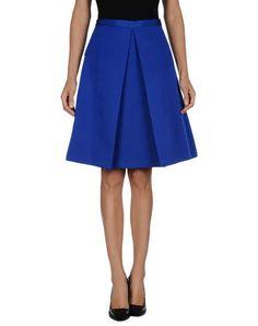 TIBI Knee Length Skirt. #tibi #cloth #dress #top #skirt #pant #coat #jacket #jecket #beachwear #