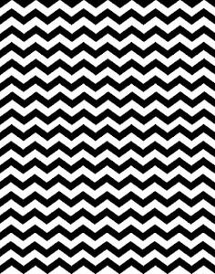 free chevron printable