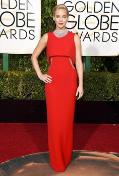 Jennifer Lawrence in Dior Haute Couture@WhoWhatWear