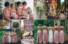 One of our favorite colour palettes in the romantic & soft Dust Me Pink colour in the Goddess By Nature dresses  just beautiful on all our bridal parties. Follow us on Pinterest for more wedding styling inspo ✨ www.goddessbynature.com #goddessbynature #goddessbynaturebridalparty #dustypink #bride #moodboard #weddingstyling #weddingplanning #pinterest #weddingcolors #wedding #weddingplanning #weddingday #bohowedding #bridesmaids #bride #outdoorwedding #bohemianwedding #gardenwedding #vintage
