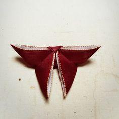 나비장식 만들기 1탄 : 네이버 블로그 Korean Art, Origami, Sewing Projects, Flag, Brooch, Brooches, Origami Paper, Science, Origami Art