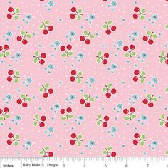 Bee In My Bonnet: Bake SaLe Cherry Fabric