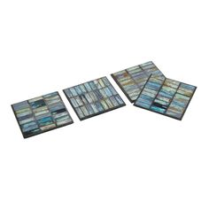 Aramis Mosaic Coasters in Gift Box as seen in the REA Awards winning Visual Display by Absolutely Fabulous! Page 60 of Gifts and Decorative Accessories August issue.