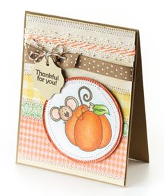 CardMaker Card Pattern of the Month Bird Cards, Thanksgiving Cards, Fall Cards, Fall Harvest, Halloween Cards, Fall Pumpkins, Cardmaking, Projects To Try, Sketches