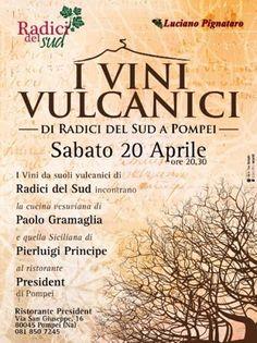 il 20 aprile al President di Pompei le eccellenze del vino e del cibo da Campania e Sicilia