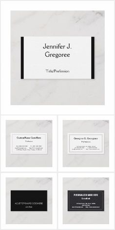 Professional business cards with a simple design. Professional Business Card Design, Simple Business Cards, Cards Against Humanity, Collections