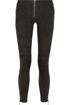 Elizabeth and James Addison stretch-leather leggings | THE OUTNET