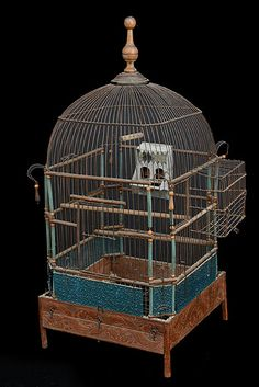 French Antique Napoleon III Period Birdcage  Birdcage Ideas: More At FOSTERGINGER @ Pinterest.