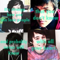 Dan and Phil Things