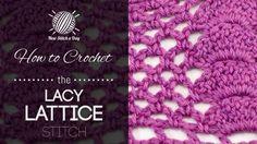 Crochet 20/34 NewStitchaDay.com