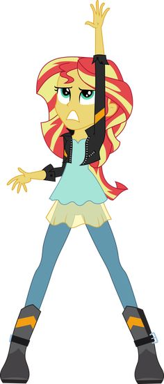 [MLP] Sunset Shimmer - My Past is Not Today #2 by AnonimowyBrony on DeviantArt