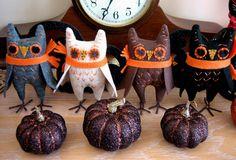 Fun Halloween  Owls