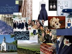 The Perfect Palette: Navy Blue & Ivory