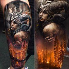 Artist: @laky_tattoo Follow for more or visit inklocations.com (link in bio). #getinked #inklocations #tattoo #ink #inked #tattoos #art #tattooed #color #colorful #black #grey #blackandgrey #tattoist #design #instaart #sleevetattoo #tatted #instatattoo #bodyart #amazingink #tattedup #tattooartworldwide #support_artists #tatuaje