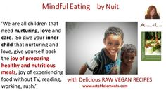 Mindful Eating #Quote by Natasa Pantovic #Nuit about #Food and Inner Child