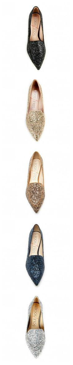 Sparkly Flats from Sole Society...great price!!!