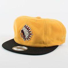 UNDEFEATED X NEW ERA 8 PANEL NATIVE FITTED BASEBALL CAP GOLD 19TWENTY UNDFTD