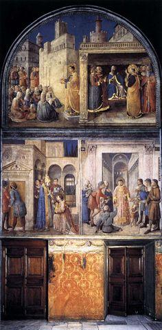 Fra Angelico - Chapelle Nicoline, Vatican, Rome.