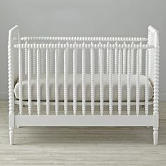 Jenny Lind White Crib  | The Land of Nod
