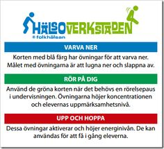 Pausgympa i skolan Teacher Education, School Teacher, Brain Breaks, Activities, Tips, School Ideas, Image, Peda, Studying