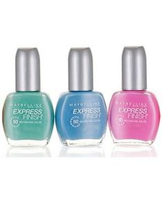 Color this summer with Maybelline Express Finish nail color. http://www.maybelline.co.in/products/nails/nail_color/express_finish.html