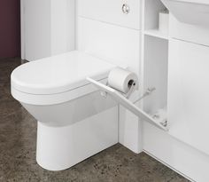 Milan - A handy toilet roll holder is such a great  and useful bathroom accessory.