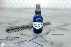 Homemade Serum for Silky Soft Hair