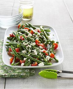 A fresh, crisp and flavorful way to enjoy green beans.