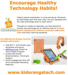 Implementing technology responsibly into children's lives.