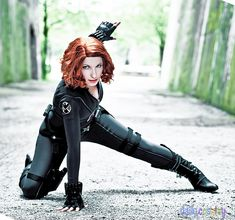 Black Widow (Natasha Romanoff) from The Avengers  http://dailycosplay.com/2012/July/10b.html  tag18