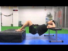 53.【筋トレ】1分間〜ながらトレーニング -Shoulder&Feet-Elevated Hip Thrust-