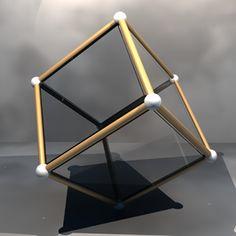 Doorzichtige kubus