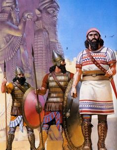 Assyrian warriors