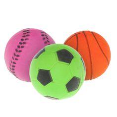 Петмакс Игрушка для собак Мяч неон резиновый 7см