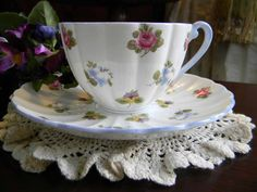 Shelley c1945-1966 Chintz Tea Cup  and Saucer