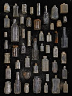 Found in Nature - Clear Glass Jars and Bottles | Barry Rosenthal